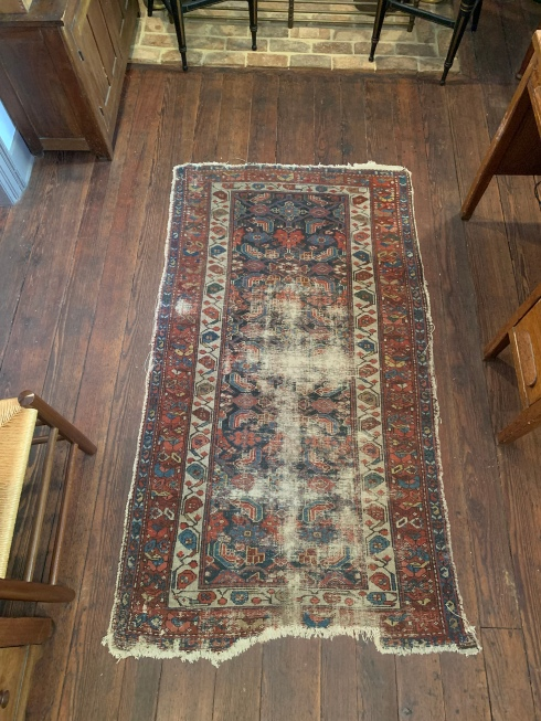 Old rug at the inn